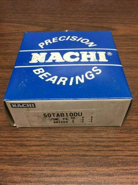 Nachi Precision Bearing 50TAB10DU