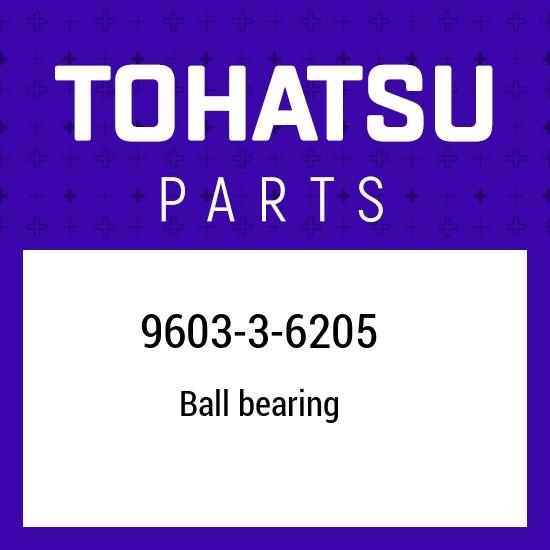 9603-3-6205 Tohatsu Ball bearing 960336205, New Genuine OEM Part