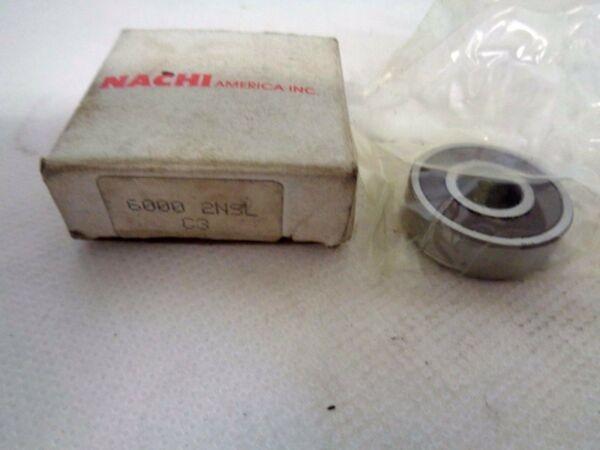 NEW  NACHI 6000 2NSL C3 SINGLE ROW   BALL BEARING