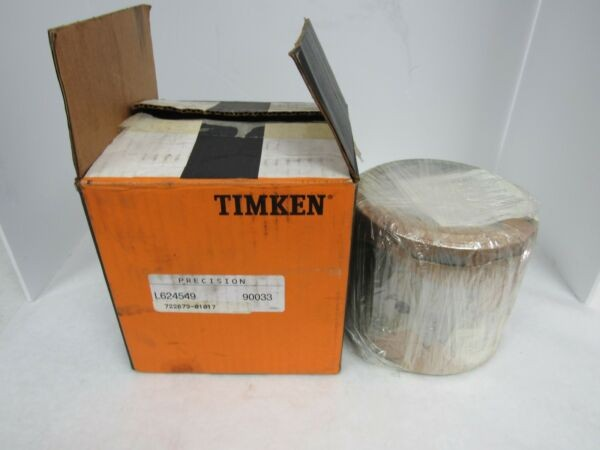 TIMKEN TAPERED ROLLER BEARING ASSEMBLY L624549 90033