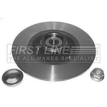RENAULT MODUS JP02 1.5D Wheel Bearing Kit Rear 2007 on 6899925RMP K9K772 Quality