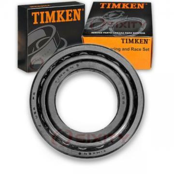 Timken Front Outer Wheel Bearing & Race Set for 1984-1995 Toyota 4Runner  dg