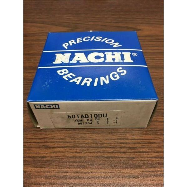 Nachi Precision Bearing 50TAB10DU #1 image